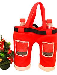 neue 2015 Weihnachtsschmuck roten Cola-Flasche Geschenkbeutel 28cm * 36cm
