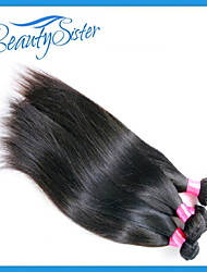 "7A Queen Hair Products Peruvian Straight Virgin Hair 3 Bundles 10-30"" Peruvian Virgin Hair Straight Human Hair"