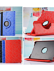 New Arrival Fashion Flower 360 Rotate Pu leather Case Cover Auto Sleep/Wake Up for ipad Air 2