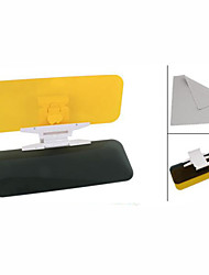 Clear Yellow No Glare Flip out Sun Visor Extender for Car Auto