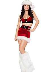 Vestidos y faldas ( Rojo , Poliéster , Desempeño ) - Desempeño - para Mujer