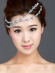 Rhinestone Flower Hair Band Hair Accessories Wedding Jewelry