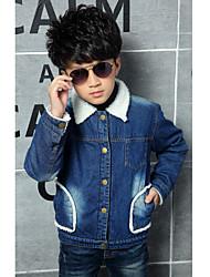 Boy's Denim Jeans , Winter Long Sleeve