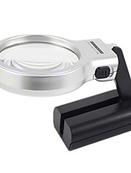 Multipurpose Folding Magnifier With Two Light Handheld Portable Desktop Magnifier Magnifier Holder