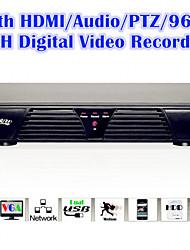 con el hdmi / control PTZ / audio / alarma / video 8channel 960H función completa grabadora de vídeo digital