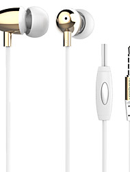 Langsdom M298 Deep Bass Clear Voice Earphone Metal In-Ear with Mic 3.5mm Headphone