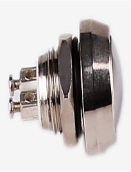 Since the Double Metal Push Button Switch HBG Q12B-10/J/N Momentary 2A/36VDC Texture:Nickel—Plated Brass