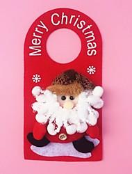 """23cm / 9 """"Weihnachtsdekoration Geschenk doornob Weihnachtsmann-Puppe hängen Plüschtier Geschenk des neuen Jahres"""