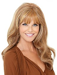 Curly Fashion Wig Long Brown With TOP Quality Hair Wigs