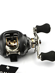 DMK DM120RA-C2 12 Bearing Bait Casting Fishing Reel Gear Ratio 6.3:1 Max Drag 5kg Right Handle  Magnetic Brake