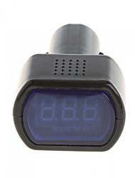 CARCHET LED Car Auto Battery Electric Cigarette Lighter Voltmeter Tester