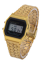 L.WEST Fashion LED Digital Steel Belt Watch Wrist Watch Cool Watch Unique Watch