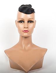 2.015 más vendido 3pcs del pelo humano / lot 75gram 8inch tejidos de pelo corto ondulado virginales brasileñas remy virginal