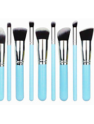 10 Makeup Brushes Set / Blush Brush / Eyeshadow Brush / Brow Brush / Concealer Brush / Foundation Brush OthersTravel / Full Coverage /