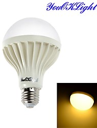 Ampoules Globe LED Décorative Blanc Chaud youOKLight 1 pièce B E26/E27 5W 9 SMD 5630 450 LM AC 100-240 V