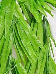 Grape Leaves Cane Plastic Plants Artificial Flowers