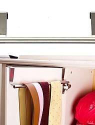 Cabinet de suspension sur la cuisine de la porte porte-serviette de bain crochet tiroir de stockage écharpe