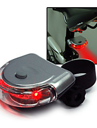 Bicycle Tail Light Super bright LED Cycling Rear Lights UFO Tail Warning Light