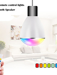 100V~240V RGB  LED Wireless Bluetooth Speaker Bulb Audio Speaker Music Playing & Lighting With E27 Remote Control lights