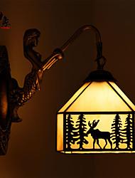 Lampade a candela da parete LED Moderno/contemporaneo Acciaio inossidabile