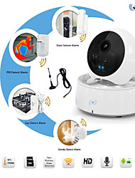 Snov® PTZ Network Cube Camera, WIFI IP IR Video Camera Alarm with IOS & Andriod SV-VPC3