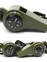 Thermometer Compass Life whistle Outdoor Life Saving Tools Sentinel Outdoor Survival Whistle Easy To Carry