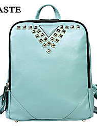 Handcee® Hot Selling Simple Design Fashion Rivet Backpack