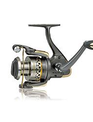 Haibo 2000 Size 7 Bearing Spinning Fishing Reel Gear Ratio 5.2:1 Exchangable Fresh Water Salt Water