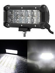7 Inch 60W OSRAM LED Work Light Bar Fog Flood Lights 4x4 SUV Boat Truck Trailer ATV Car Headlight Offroad Driving