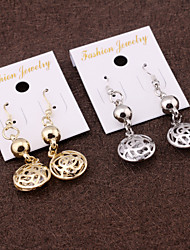 Earring Drop Earrings Jewelry Women Alloy 2pcs Gold / Silver