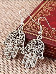 Ohrring,Tropfen-OhrringeSchmuck 2 Stück Silber