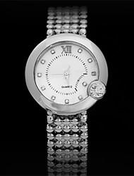Эбби последней моде позолоченная кварцевые часы, модные дамы Watche