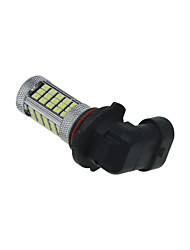 Ampoule de voiture blanche 2x 63 SMD 2835 conduit 9006 lampe de feu de brouillard HB4 parking p22d H321 12v
