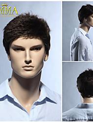 100% kurze Haare menschliche Naturhaar Perücke Perücke Herren Perücke natürliche schwarze Perücke emma Perücke die besten Perücken Shop
