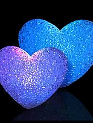 8 см Рождество хрустальный шар частиц украшения аккумуляторный фонарь фестиваль в ночном свете лампы привело