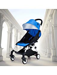 yoya parapluie portable 4 roues poussette résistant aux chocs lumière plié poussette dans sit d'avion ou de sommeil
