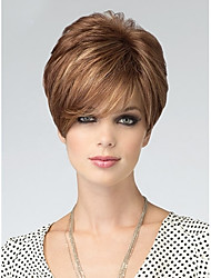 European Women Lady Syntheic Wigs Extensions Charming