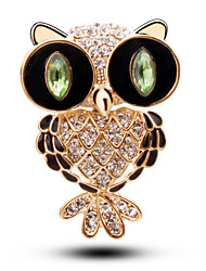 Korean Fashion Owl Brooch