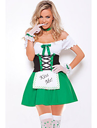 Women's Kiss Me Cutie Irish Sexy Costume