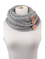 Damen Freizeit Baumwollmischung Schal Winter