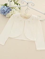 Wedding / Party/Evening / Casual Cotton Shrugs Sleeveless Wedding  Wraps / Kids Wraps