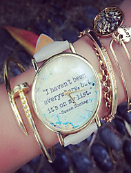 Travel Watch - World Map Watch - Travel Gift - Quotes Watch - Vintage Leather Watch - Book Watch Unisex Fashion Watch Cool Watches Unique Watches