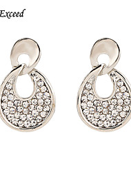 Earring Drop Earrings Jewelry Women Wedding / Party / Daily / Casual Alloy / Resin / Silver Plated 2pcs