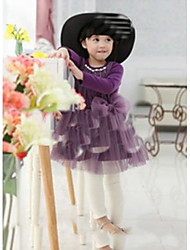 Kid's Dress , Cotton / Mesh Casual / Cute / Party NewyearKids