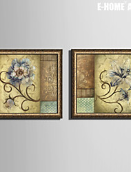 E-HOME® Framed Canvas Art,  Flower Framed Canvas Print One Pcs