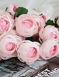 Seda Camellia Flores artificiais