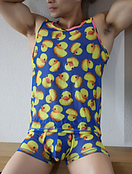 Sexy Suit/Men's Sleeveless Vest  And Boxers/Breathable fashion/Duck ,