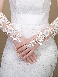 Lace Elbow Length Wedding/Party Glove