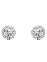 Stud Earrings Women's Alloy Earring Cubic Zirconia