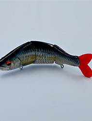 New 11.5 CM 19 Gram Multi-jointed Fishing Lures Bass Pike Muskie Fishing Tackle